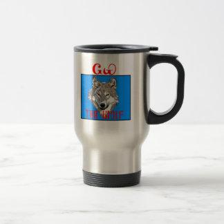 チェロキーオオカミ トラベルマグ