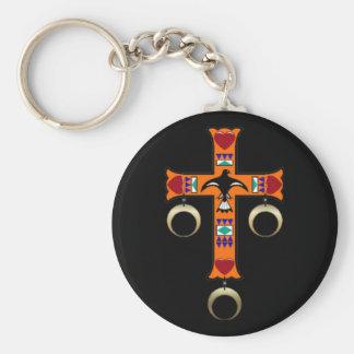 チェロキー十字 キーホルダー