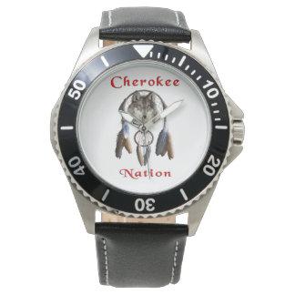 チェロキー国家の衣類 腕時計