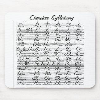 チェロキー字音表のマウスパッド マウスパッド