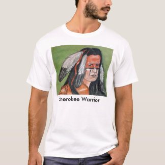 チェロキー戦士 Tシャツ