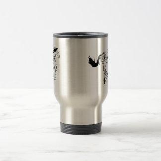 チェロキー馬のコーヒー・マグ トラベルマグ