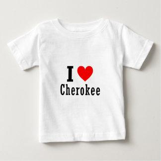 チェロキー、アラバマ都市デザイン ベビーTシャツ