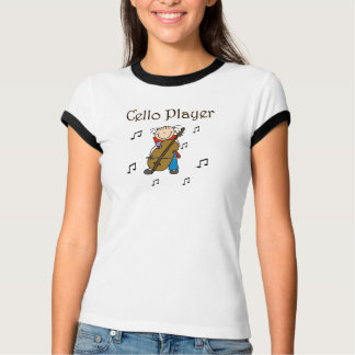 チェロプレーヤーのワイシャツ Tシャツ