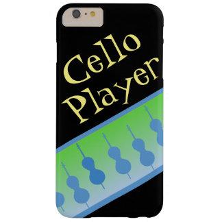 チェロプレーヤーの電話箱 BARELY THERE iPhone 6 PLUS ケース