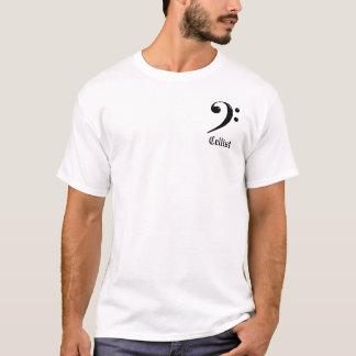 チェロ奏者のTシャツ Tシャツ