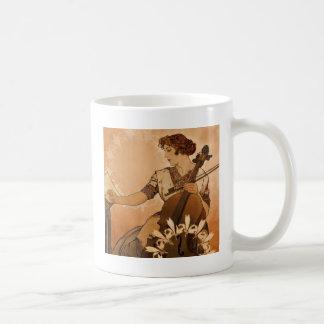 チェロ奏者 コーヒーマグカップ