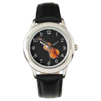 """""""チェロ""""のデザインの腕時計 腕時計"""