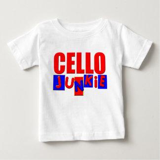 チェロ ベビーTシャツ