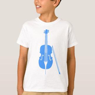チェロ-空色 Tシャツ