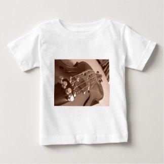 """チェロ""""違うな角度"""" ベビーTシャツ"""