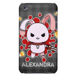 チェーンソーが付いているかわいいかわいいの邪悪なバニー iPod TOUCH カバー