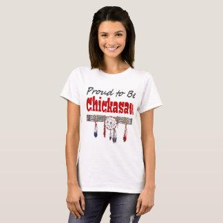 チカソーの基本的なTシャツがあること誇りを持った Tシャツ