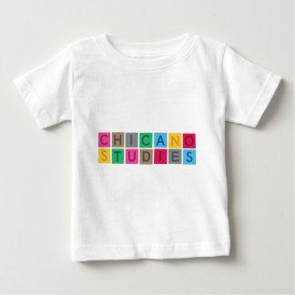 チカーノの勉強 ベビーTシャツ