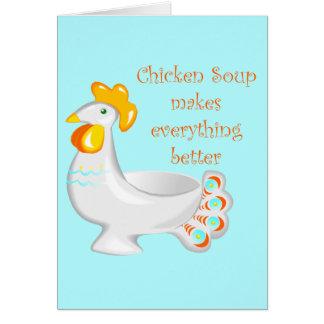 チキンスープ カード