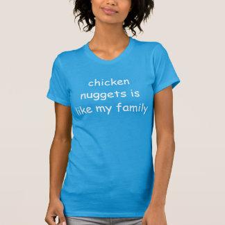 チキン・ナゲット家族のTシャツ Tシャツ