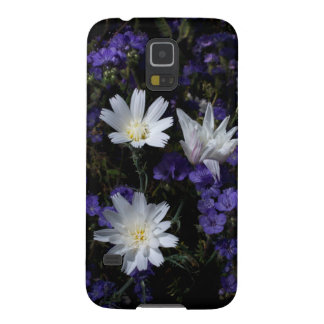 チコリーおよびPhaceliaの野生の花 Galaxy S5 ケース