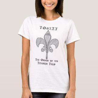 チタニウムのチューリップの順序 Tシャツ