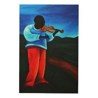 チタニウムジーンle violoniste 2008年 ウッドウォールアート