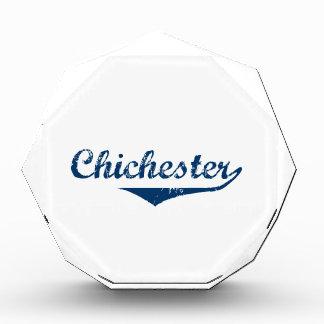 チチェスター 表彰盾