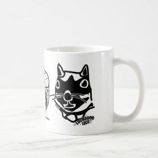 チトーのb&wのデザイン コーヒーマグカップ