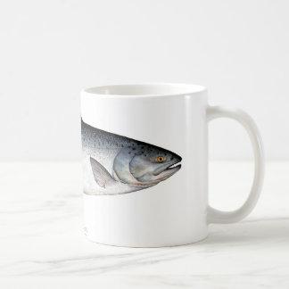 チヌックか王サケの魚のコーヒー・マグ コーヒーマグカップ
