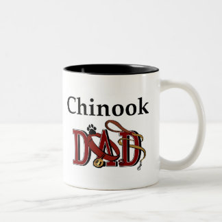 チヌックのパパのマグ ツートーンマグカップ