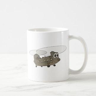 チヌックのヘリコプターの漫画 コーヒーマグカップ