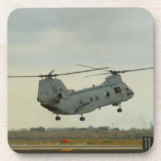 チヌックまたは海の騎士ヘリコプターのコースター コースター