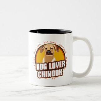 チヌック犬の恋人 ツートーンマグカップ