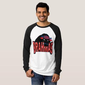 チノの谷のBrahmasの長袖のRaglanのTシャツ Tシャツ