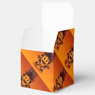 チビ(小さくかわいく書いた感じ)のギフト用の箱のハロウィンモンスター フェイバーボックス