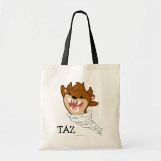 チビ(小さくかわいく書いた感じ)のトルネードTAZ™ トートバッグ