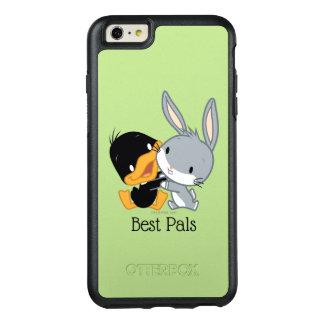 チビ(小さくかわいく書いた感じ) DAFFY DUCK™及びバッグス・バニーの™ オッターボックスiPhone 6/6S PLUSケース