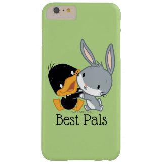 チビ(小さくかわいく書いた感じ) DAFFY DUCK™及びバッグス・バニーの™ BARELY THERE iPhone 6 PLUS ケース