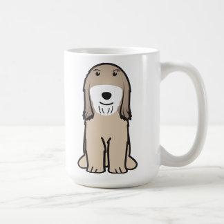 チベタンテリア犬の漫画 コーヒーマグカップ