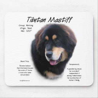 チベタン・マスティフの歴史のデザイン マウスパッド
