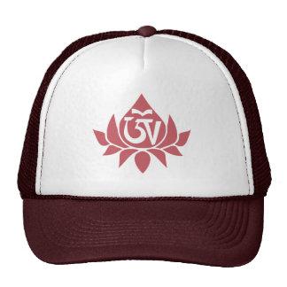 チベットのオウムおよびはす帽子 キャップ
