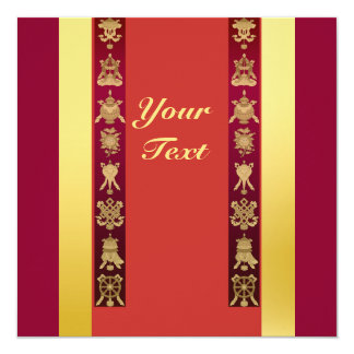 チベットのチベットの幸運な記号 カード