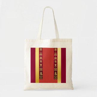 チベットのチベットの幸運な記号 トートバッグ