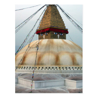 チベットの仏教のStupa ポストカード