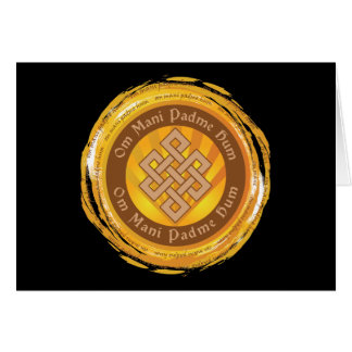 チベットの信念の無限の結び目 カード