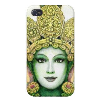 チベットの女神の緑のタラのiPhoneの場合 iPhone 4/4S カバー