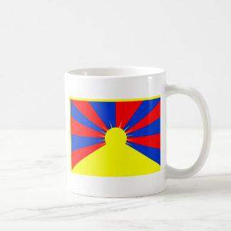 チベットの旗 コーヒーマグカップ