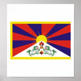 チベットの旗 ポスター