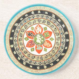 チベットの曼荼羅の芸術 コースター