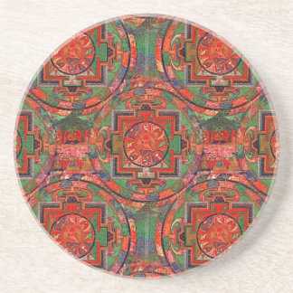 チベットの曼荼羅 コースター