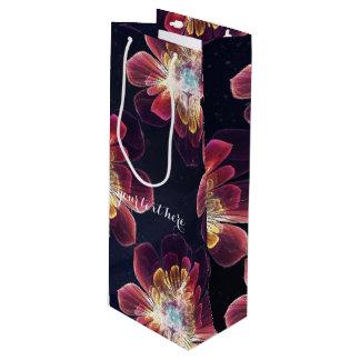 チベットの海の花|のカスタムなギフトバッグ-ワイン ワインギフトバッグ