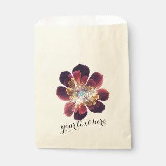 チベットの海の花 のカスタムな好意のバッグ フェイバーバッグ