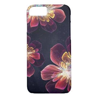 チベットの海の花|のiPhone 7つのSamsungの銀河系の箱 iPhone 8/7ケース